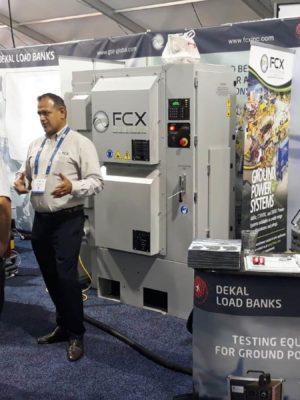 Dekal Load Banks GSE EXPO 2018, L.V., USA